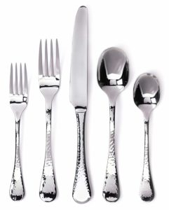 Ginkgo International Lafayette 42-Piece Stainless Steel Flatware Place Setting