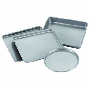Farberware Nonstick Bakeware 4-Piece Toaster Oven Set