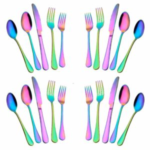 Woaiwo-q 20-Piece Stainless Steel