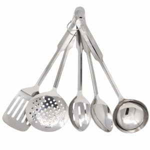 Amco Stainless Steel Utensil Set,Medium