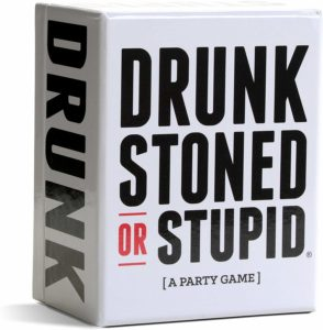 CHRISTMAS,HOLIDAY, BIRTHDAY GIFT Drunk Stoned or Stupid [A Party Game]