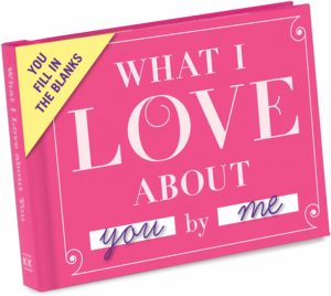 Knock Knock What I Love about You Fill in the Love Book Fill-in-the-Blank Gift Journal,