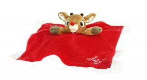 Baby's First-Christmas Blanket, Rudolph or Clarice - One Assorted Blanket
