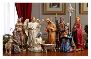 Three Kings Gifts Real Life Christmas Nativity Set for friends. sister, dad, mother, teacher